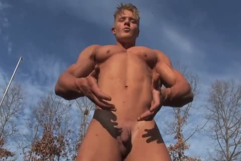 filthy Blond Micah J in nature's garb Show