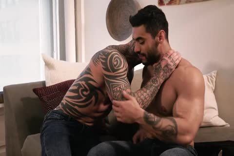Tatted chap Takes A slamming