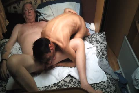 Wife Went Shopping grand-dad Comes And fuck Me
