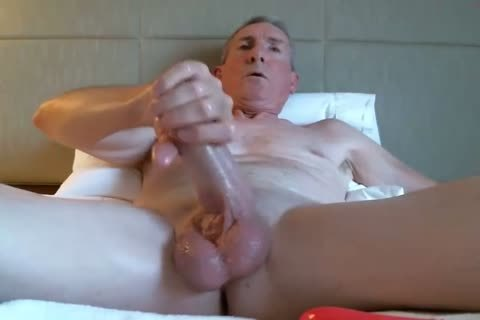 gigantic Dicked daddy stroking 035