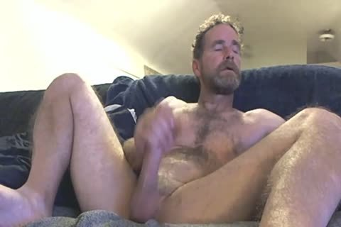 dad Fingering His penis In Front Of The Camera