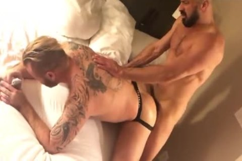 Marco Napoli Destroying Zack Aclands bare ass