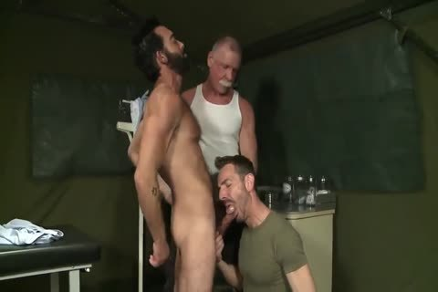 Silver Daddy Tastes His Sons' Cumloads