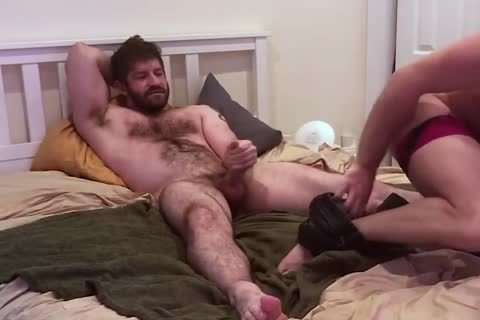 VERBAL hairy dad TELLS HOOKUP that man'S going to NUT INSIDE