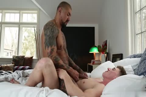 Straight College chaps Sharing A cum Load