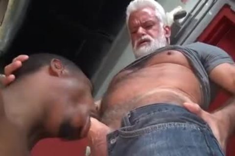JAKE-SILVER DADDY THE BARBER hammer HIS darksome gap