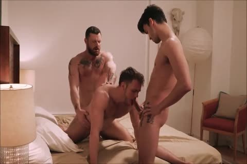 Two Daddies Abusing And Barebacking A pretty Hunk