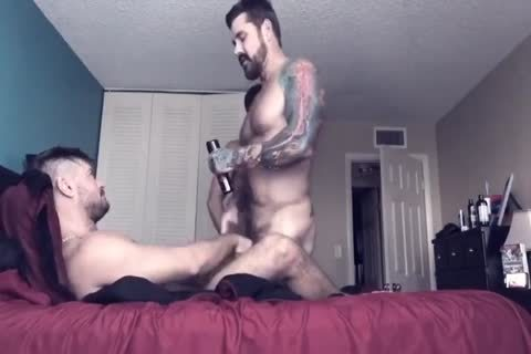 College gay Roommate loves unprotected pooper fucking