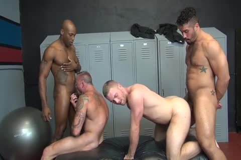 raw Locker Room fuckfest