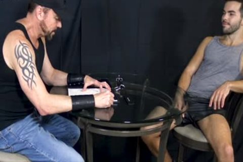 Bottom stud Riley Ross Blindfolded And Face-nailed