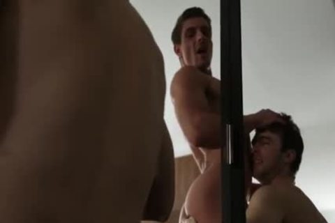Large weenie homosexual butt Sex With ball batter flow