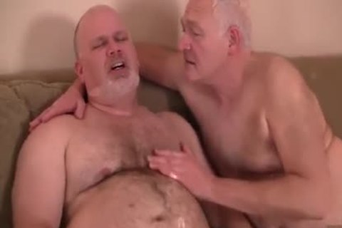 Daddy engulfing & Getting hammered By gracious grandpa