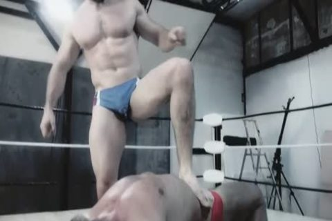 Wrestlemale 24 Paris rough abode War animal VS Butch