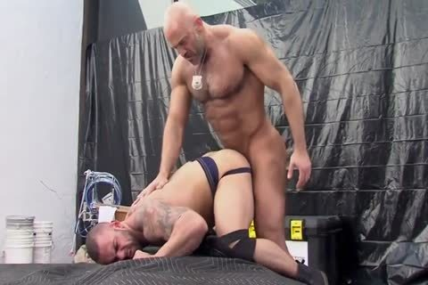Muscle bound Body Builder Lorenzo Flexx loves Getting plowed - Costarring Dirk Caber, Jason Vario And Dallas Steele