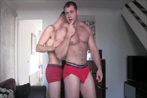 big C With His gigantic Muscles Dominate Skinny twink