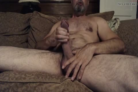 Hung bushy Daddy With A gigantic pecker