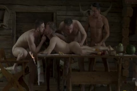 The Banquet - bare group-sex