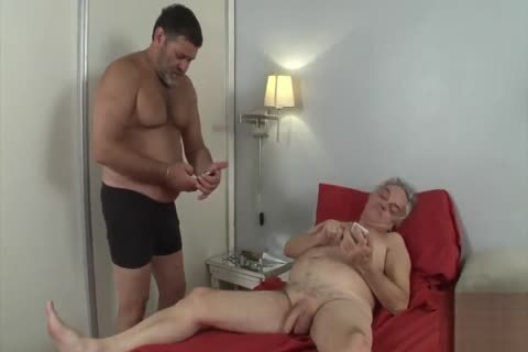 grandpa Want To Be fucked By A Daddy
