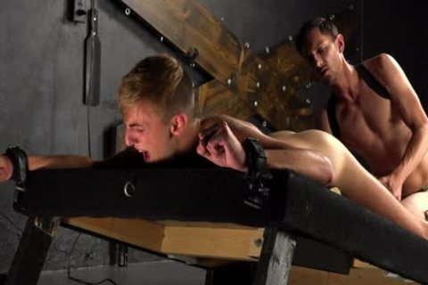 dirty twinks cum After hardcore bare plowing In bondage