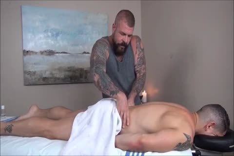 Rocco Steele's Dads unprotected Massage