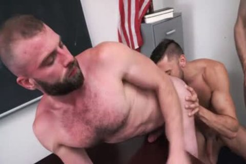 Pervy Professor Acquires His Arsehole hammered By His Much Loved Student And His Stepdad