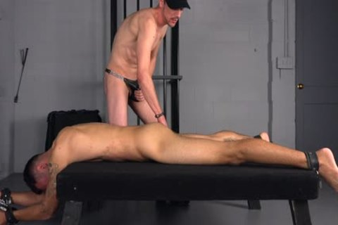 Straight rod poked bare & Bred By Hung Top - gay bdsm