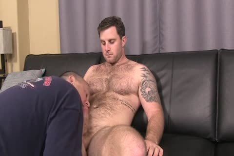 bushy Hunk With overweight shlong Full Service