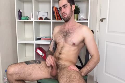 Bushy And pumped up Russian Males Alex Discharges A massive Load