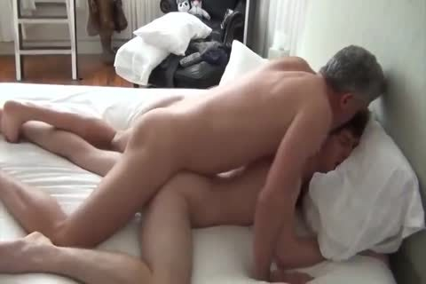 Two Hung Daddys bare group-sex new Smooth