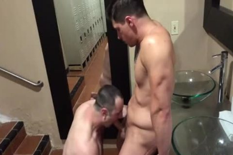 lovely males dril In A Locker Room
