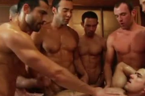 SEX gay video group bunch-sex fuckfest By GrzeGoRzUni1988