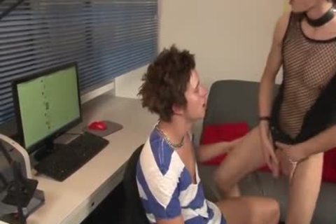 Sissy lad acquires nailed