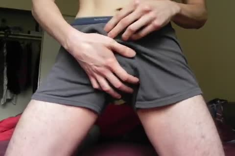 underwear tease and soft precum milking