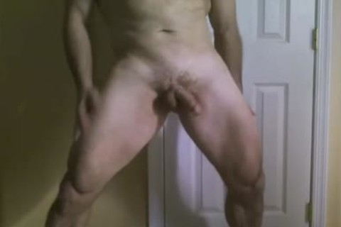 jerking off and fingering my gap