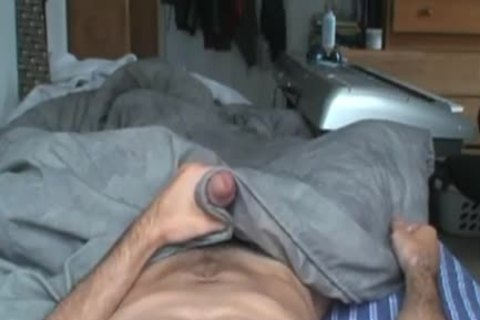 POV Camera Angle of Hung Amatuer jerking off